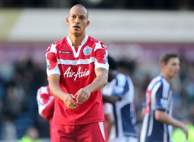 Lay-off: Queens Park Rangers' Bobby Zamora.