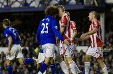 Three-match ban for Marouane Fellaini