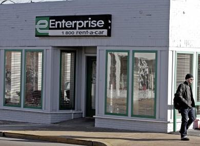 FILE: An Enterprise Rent-A-Car storefront location