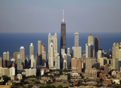 Chicago: The city where Josephine Stout settled as a toddler with her parents after they arrived on a