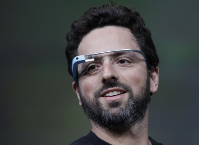 Google's Sergey Brin: He can pay you not to call him 'four eyes'.