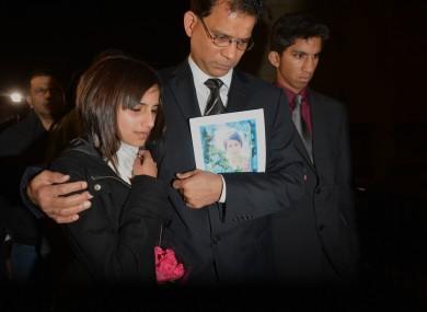 The family of Jacintha Saldanha
