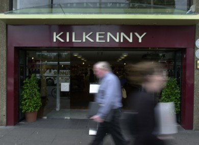 Kilkenny shop on Nassau Street, Dublin.