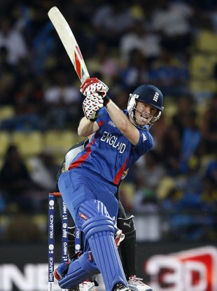 Eoin Morgan saved the day for England.