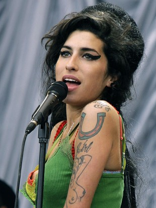 File photo of singer Amy Winehouse.