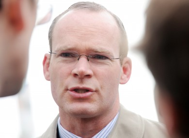 Fine Gael Minister for Agriculture Simon Coveney