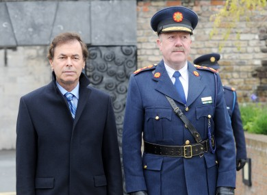 Minister for Justice and Equality Alan Shatter (left) pictured with Garda Commissioner Martin Callinan