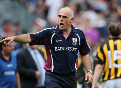 Galway hurling manager Anthony Cunningham