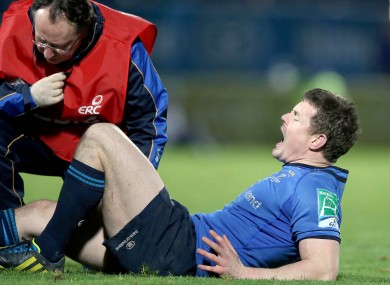 BOD: in pain after rolling his right ankle.