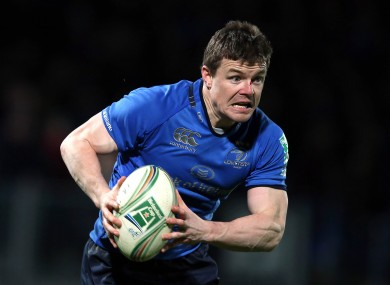 Brian O'Driscoll looking to defy the career eulogists again.