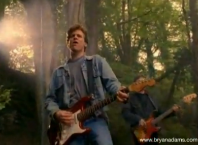 Bryan Adams: owner of the only denim jacket in Nottingham Forest