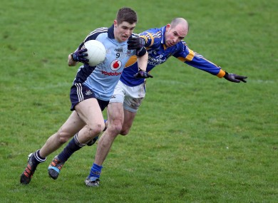 Emmett O'Conghaile of Dublin with Paul Cunningham of Wicklow.