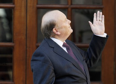 Michael Noonan on Budget Day
