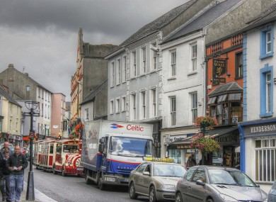 All areas surveyed in Kilkenny (pictured) received the highest possible grade.