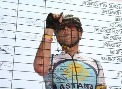 Lance Armstrong: will be interviewed by Oprah.