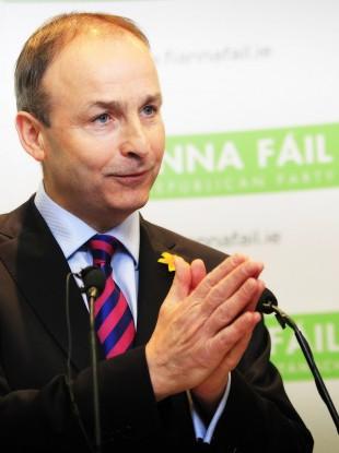 Fianna Fáil leader Micheál Martin (File photo)