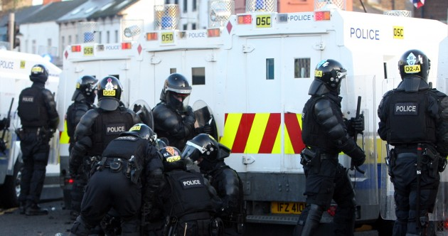 PHOTOS: Sixteen police officers hurt in Belfast clashes