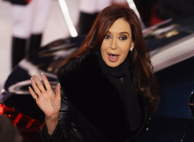 Argentine president Cristina Fernandez de Kirchner has been dismissive towards the possibility of being kicked out of the IMF.