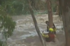 VIDEO: Dramatic footage of swift water rescue in Queensland