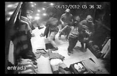 This ad is really footage of a €15k robbery