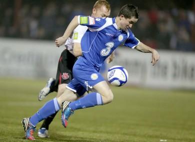 Maguire in action for Waterford.
