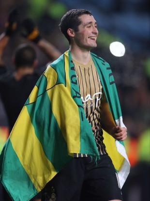 McHugh: celebrated Bradford's win against Aston Villa in his county colours.