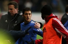 No police charge as Hazard apologises to ball boy