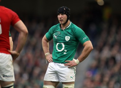 Ferris last played for Ireland against England in March 2012.