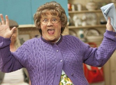 Brendan O'Carroll's grandparents lived next door to a Mrs. Brown.