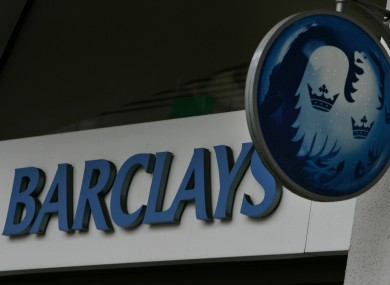 A Barclays bank branch in central London (file photo).