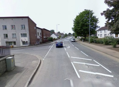 File image of the Doagh Road in Ballyclare where a number of suspicious devices were found.