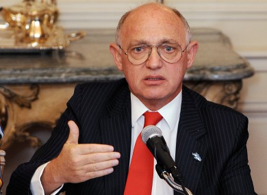 Argentine foreign minister Hector Timerman.