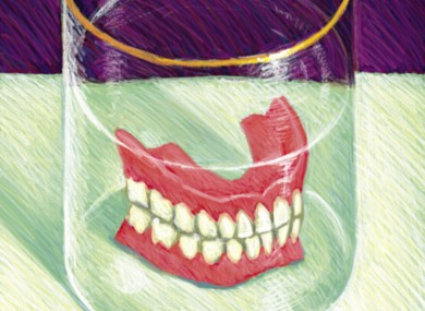false teeth dating site
