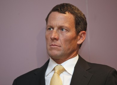 Armstrong (file photo).