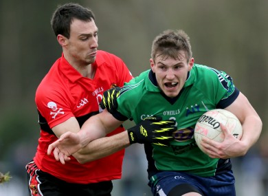 UCC's Kevin O'Driscoll and Kieran Martin of AIT.