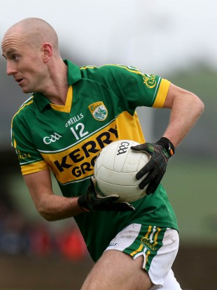 Kerry player Michael O'Donoghue.