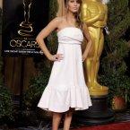 Jennifer Lawrence: luminous of course.  Still no colour though. (Chris Pizzello/Invision/AP)