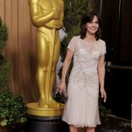 Sally Field looks nice. She also looks like she's about to take off, perhaps a nod to her days as the flying nun?  (Chris Pizzello/Invision/AP)