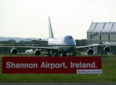 Shannon Airport.