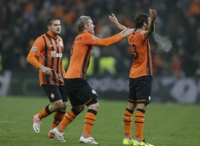 Darijo Srna's strike wasn't enough to give Shakhtar Donetsk victory on Wednesday.