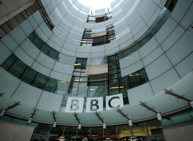 The BBC Broadcasting House in Portland Place, London