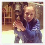 Evie gave the pup his new name, Isa, after her favourite Leinster player.