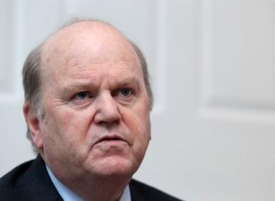 Fine Gael Minister for Finance Michael Noonan