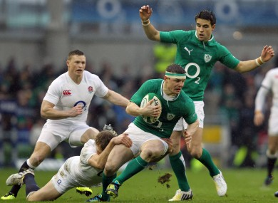 Brian O'Driscoll and Conor Murray are on the 15-man shortlist.