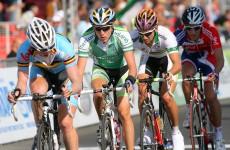 Job done: Daniel Martin wins the Volta a Catalunya