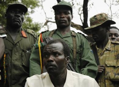 Joseph Kony with LRA