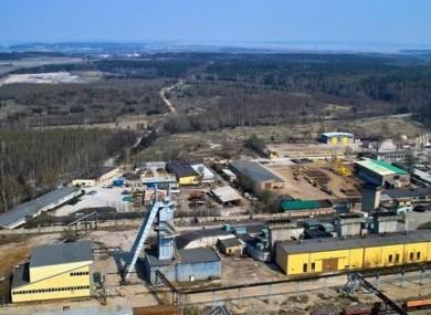 The Rudna copper mine