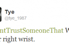 10 people on Twitter who probably have trust issues