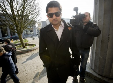 Savita Halappanavar's husband Praveen pictured arriving at Galway Courthouse last week