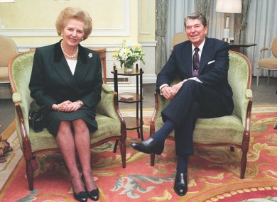 The US hailed Lady Thatcher as a